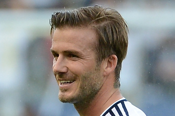 David Beckham Training with Arsenal to Keep Fit