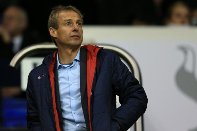 Coach Jurgen Klinsmann Flies Helicopter To, from U.S. Camp