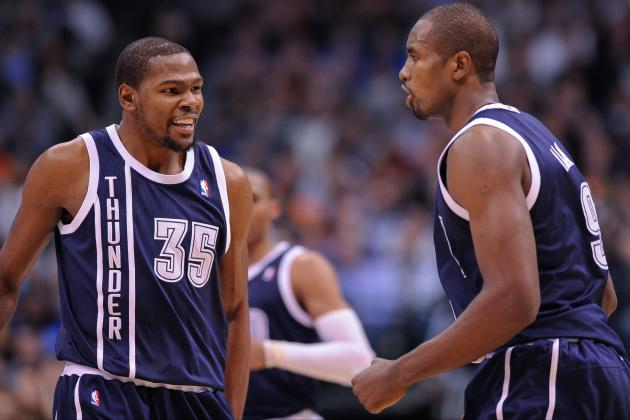 Kevin Durant Downplays Angry Shouting with Serge Ibaka
