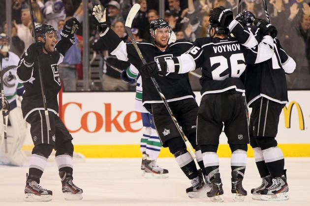 Carter, Voynov Rescue Kings Against Canucks