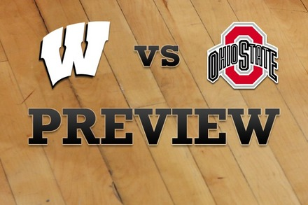 Wisconsin vs. Ohio State: Full Game Preview