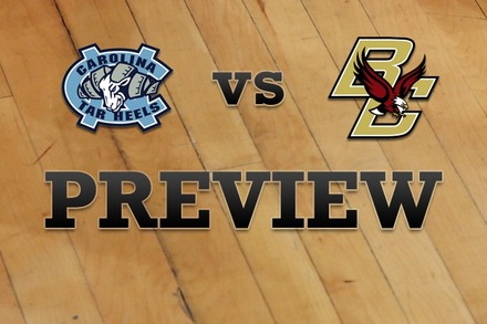 North Carolina vs. Boston College: Full Game Preview
