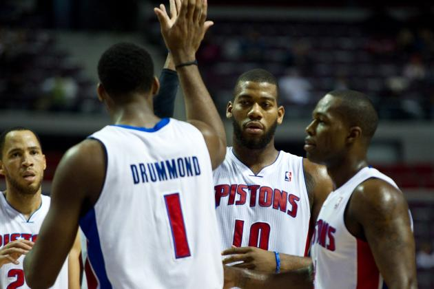 Pistons Might Use Greg Monroe and Andre Drummond Together More Often