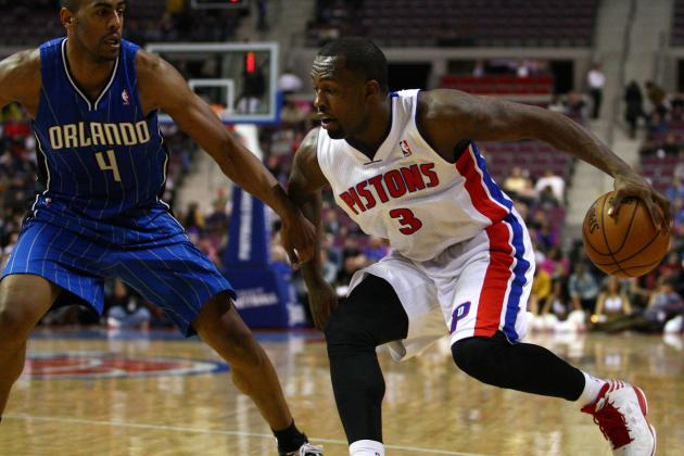 Pistons' Win Over Orlando Obscured by the Mystery of Rodney Stuckey's Benching