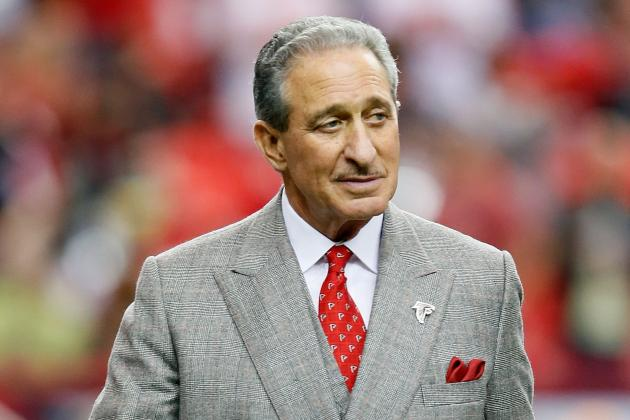 Report: Arthur Blank Says Los Angeles Has Interest in Falcons Franchise (Update)