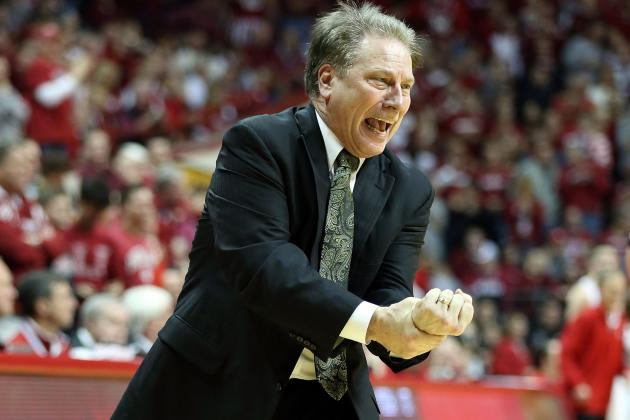Michigan State Coach Tom Izzo: Spartans Better at 17-4 Than 17-3
