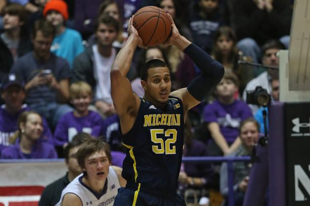 No Broken Bones for U-M's Jordan Morgan; He Might Play vs. Northwestern
