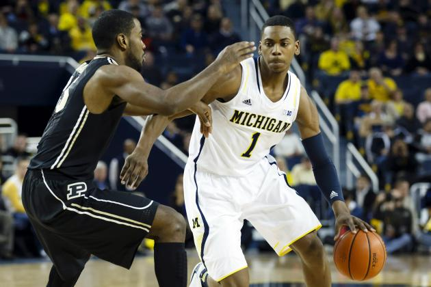 Wolverines' Glenn Robinson III Named Big Ten Freshman of the Week