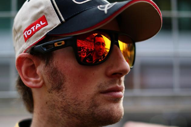 I Have a Point to Prove -- Romain Grosjean