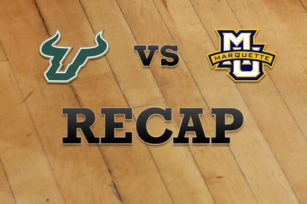 South Florida vs. Marquette: Recap and Stats