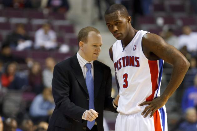 Stuckey Active for Pistons; Frank Says They Have 'Mutual Understanding'