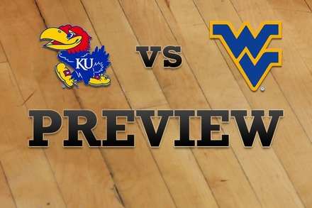 Kansas vs. West Virginia: Full Game Preview