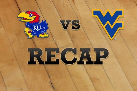 Kansas vs. West Virginia: Recap and Stats