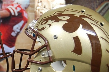 PHOTOS: Western Michigan Unveils New Helmets
