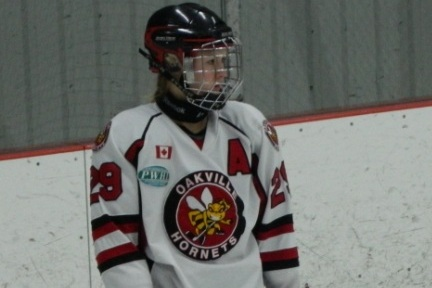 Kristin Gilmour Bolstering the Blue Line of the Oakville Hornets