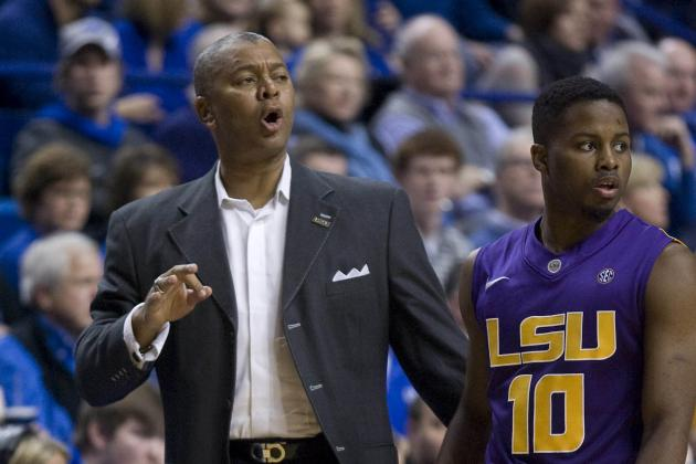 Road Woes Linger for LSU Men