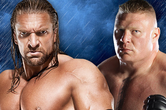 Brock Lesnar vs Triple H at WrestleMania 29 Should Be a Hell in a Cell Match