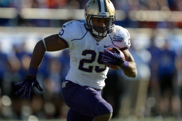 Washington Huskies 2012 Evaluations: RB Bishop Sankey
