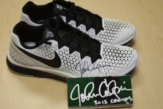 John Calipari's Autographed Shoes Selling for More Than $2K on EBay