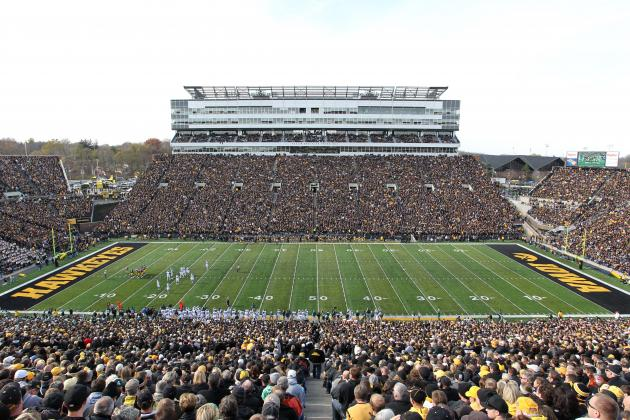 Iowa Will 'Reseat' Kinnick Stadium for 2014 Season