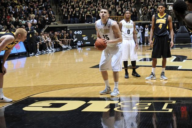 Hawkeyes' Size Gives Purdue Freshman Hale Chance to Shine
