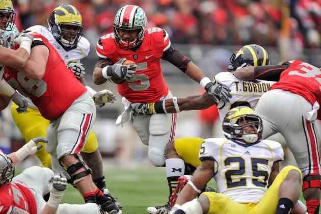 Ohio State Football: Projecting the Buckeyes Rushing Leaders for 2013