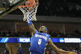 5 questions with University of Memphis forward D.J. Stephens
