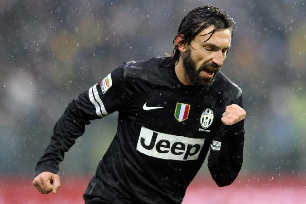 Andrea Pirlo, Antonio Conte and Juventus Win Top Awards