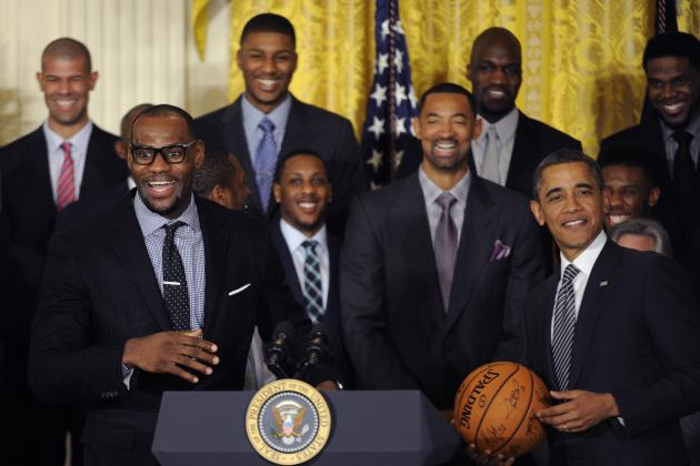 Postcards, Pics and Tweets from the Miami Heat's Day at the White House