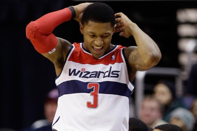 Wizards' Bradley Beal Might Be Forced to Sit with Wrist Injury
