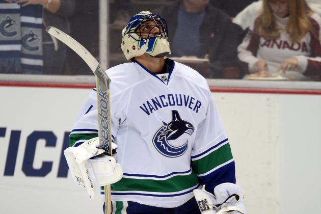 Luongo Almost Backstops Great Win, but Canucks Settle for 3-2 SO Loss