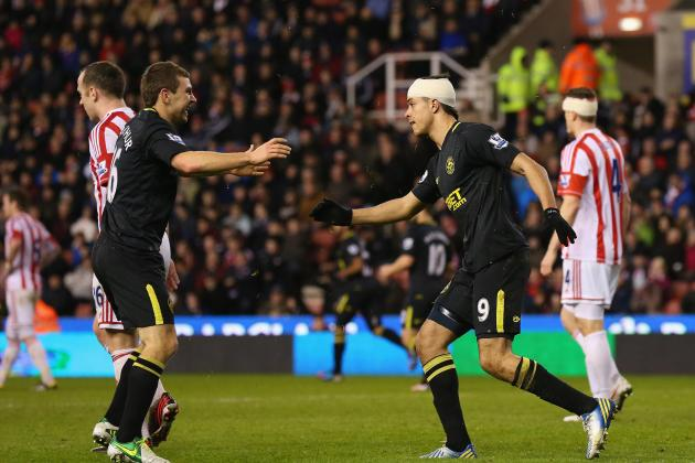 Stoke City 2 Wigan Athletic 2: Match Report