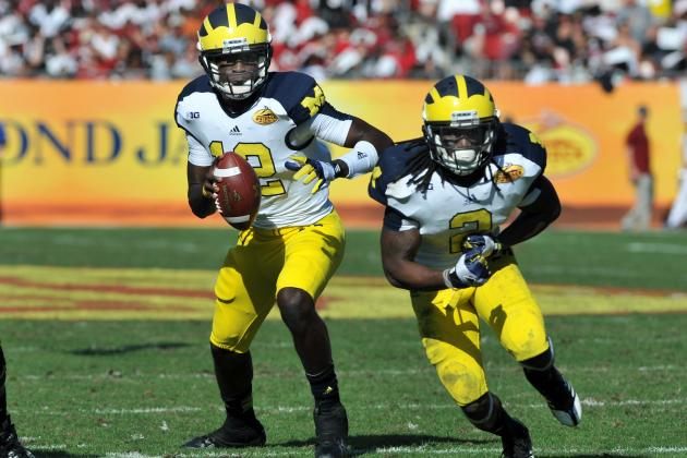 Michigan Football: Wolverines Offense Could Be Must-See TV in 2013