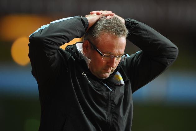 Aston Villa Sleepwalking out of the Premier League