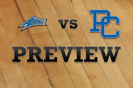 UNC Asheville vs. Presbyterian: Full Game Preview