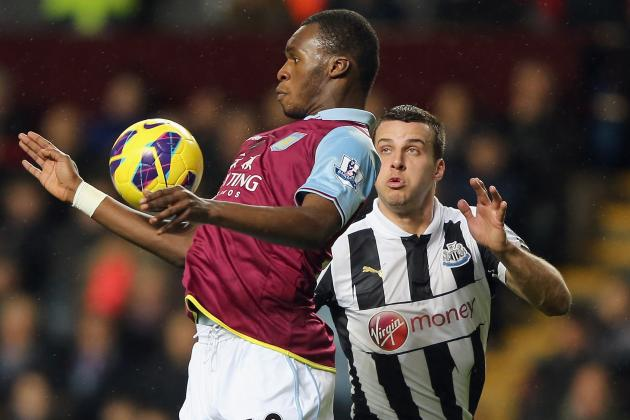 Aston Villa Drop into Bottom Three After Yohan Cabaye Fires Newcastle