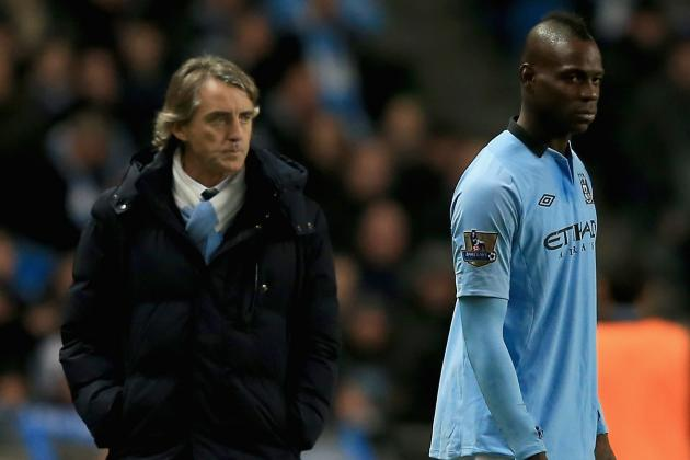 Mancini Admits He's Sad to See Back of Balotelli
