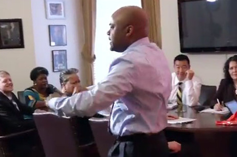 Denver Mayor Michael Hancock Pays Bet by Doing Ray Lewis Dance