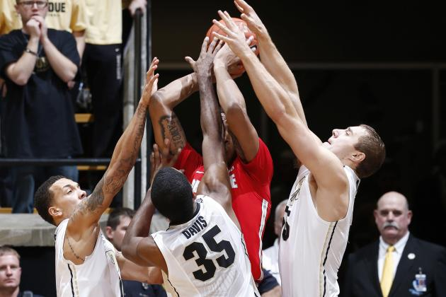 Rivalry Between Purdue and Indiana Is Cordial, but Fierce