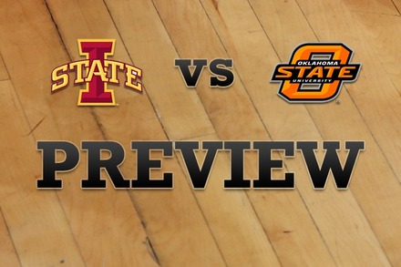 Iowa State vs. Oklahoma State: Full Game Preview