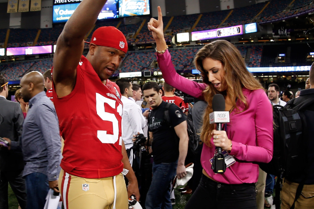Katherine Webb Carrying on Tradition of Pretty Ladies at Super Bowl Media Day