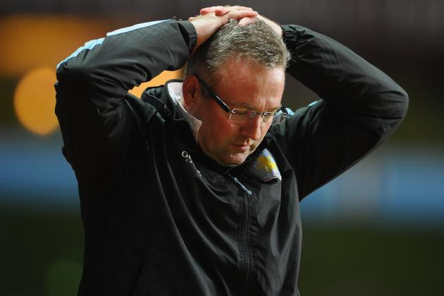Paul Lambert Admits Aston Villa Cannot Afford to Strengthen Failing Squad