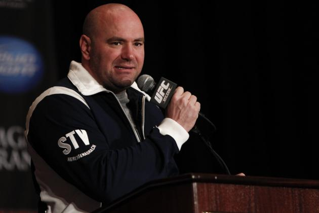 Dana White Squashes Beef with Justin Timberlake