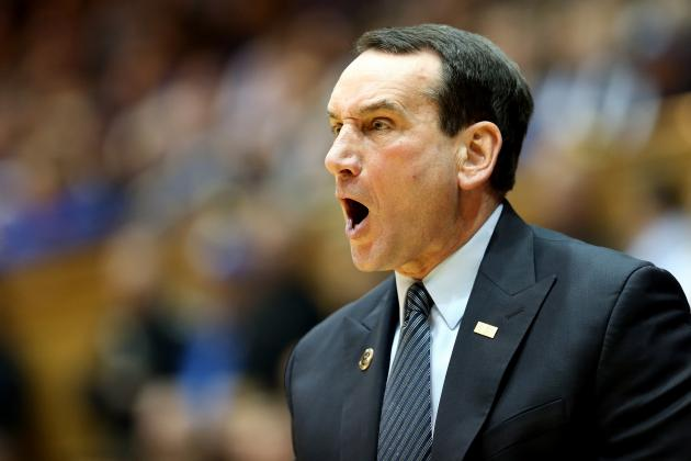Duke Blue Devils: Why Coach K Has Himself to Blame for Blue Devils' Road Woes