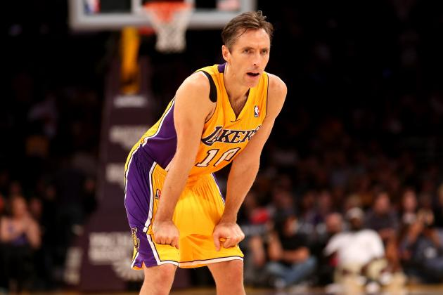Steve Nash Is Biggest Loser in Lakers Nightmare Season