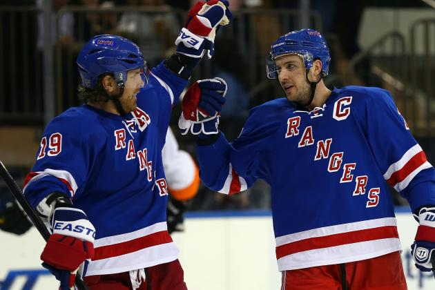 Rangers Edge Flyers for 3rd Straight Home Win