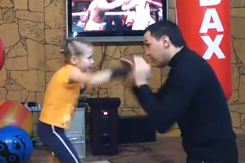 Little Girl's Incredible Boxing Video Goes Viral