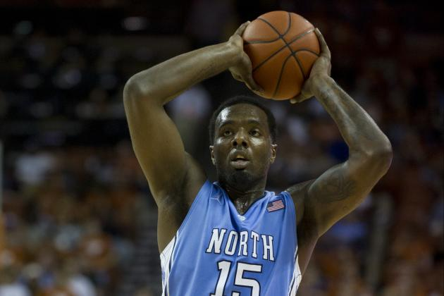 North Carolina's PJ Hairston Taken Off on Stretcher After Blow to the Head