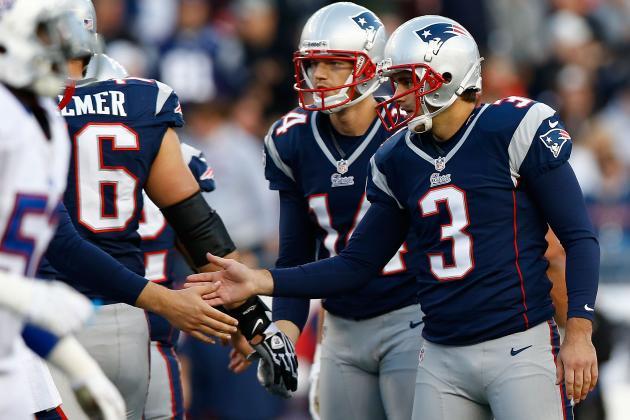 2013 Patriots Offseason: Is Patriots K Stephen Gostkowski on the Bubble?