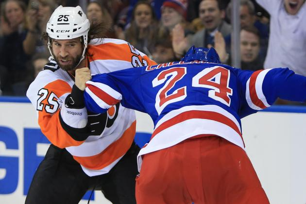 Rangers Captain Ryan Callahan Leaves Game Against Flyers, Doesn't Return